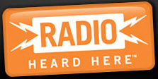 Radio here tilted