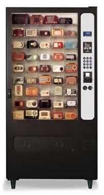 Radio vending machine