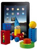 IPad with Toys