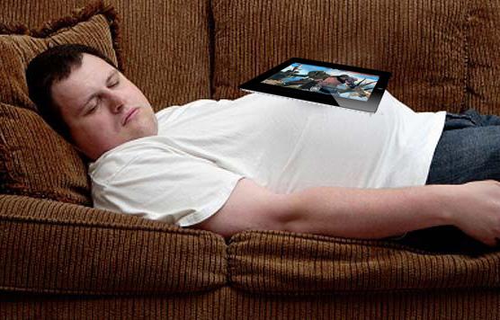 Multitasking couchpotato