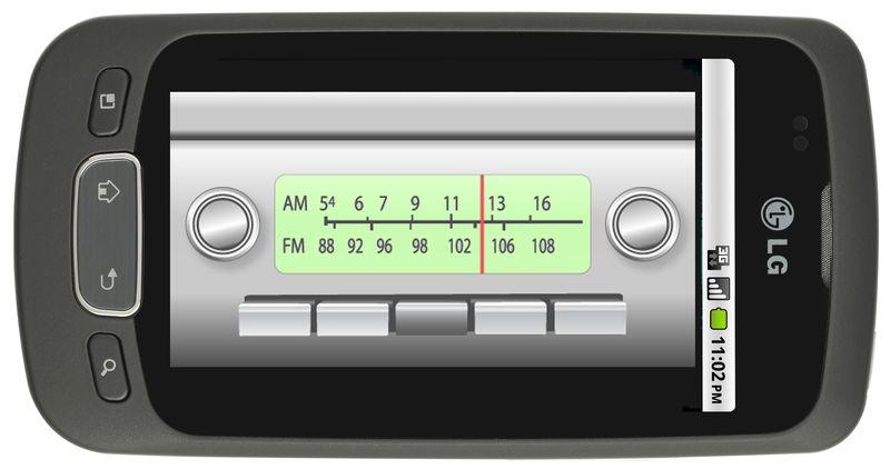 LG radio