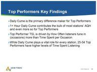Arb Key Findings
