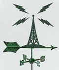 Radio weathervane