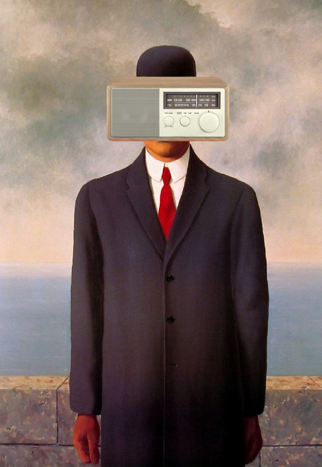 Magritte son of radio