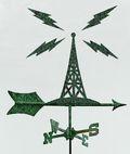 Radio weathervane